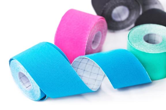 Kinesio tape rolls
