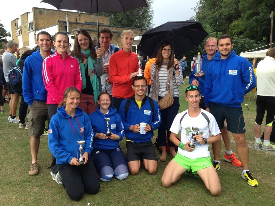 HRRL club trophies at Overton 5