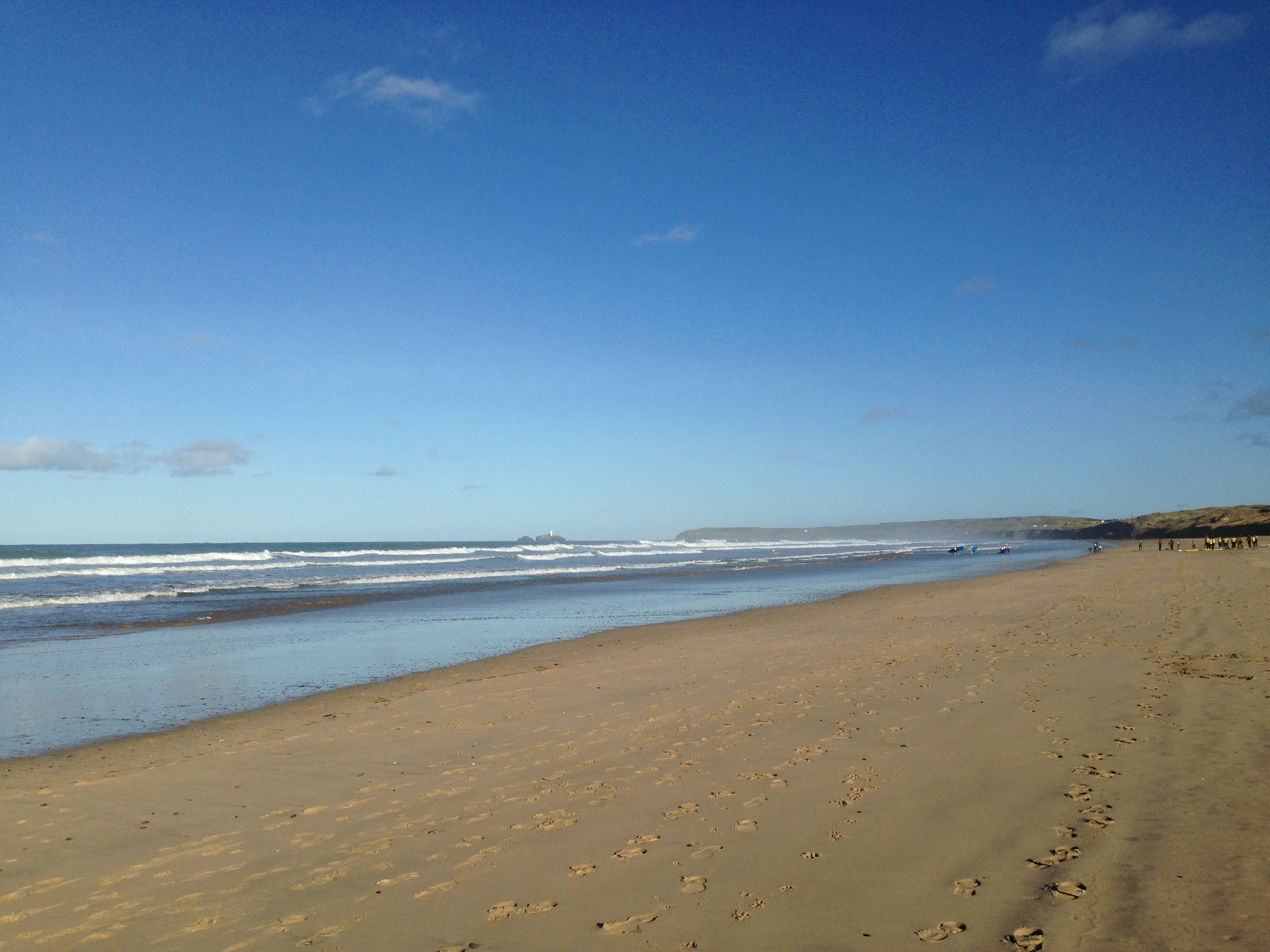 Hayle is famous for having '3 miles of golden sands'