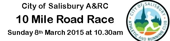 Salisbury 10 mile race logo