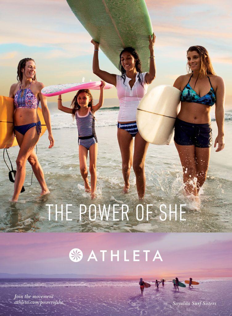 Athleta Power of She advert