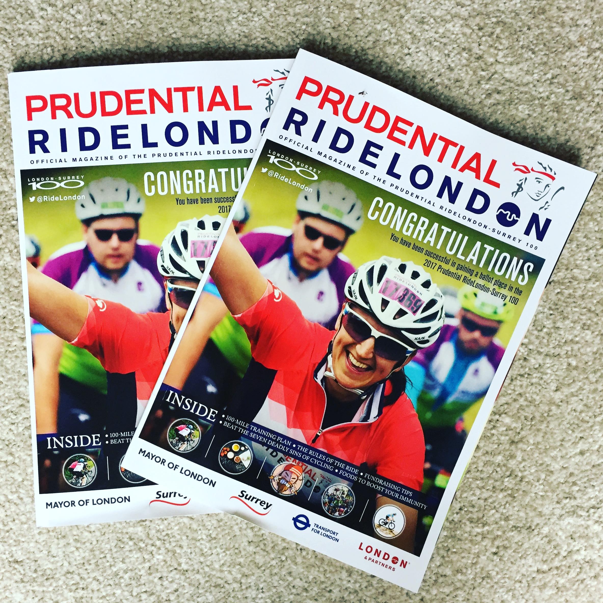 Ride London magazines