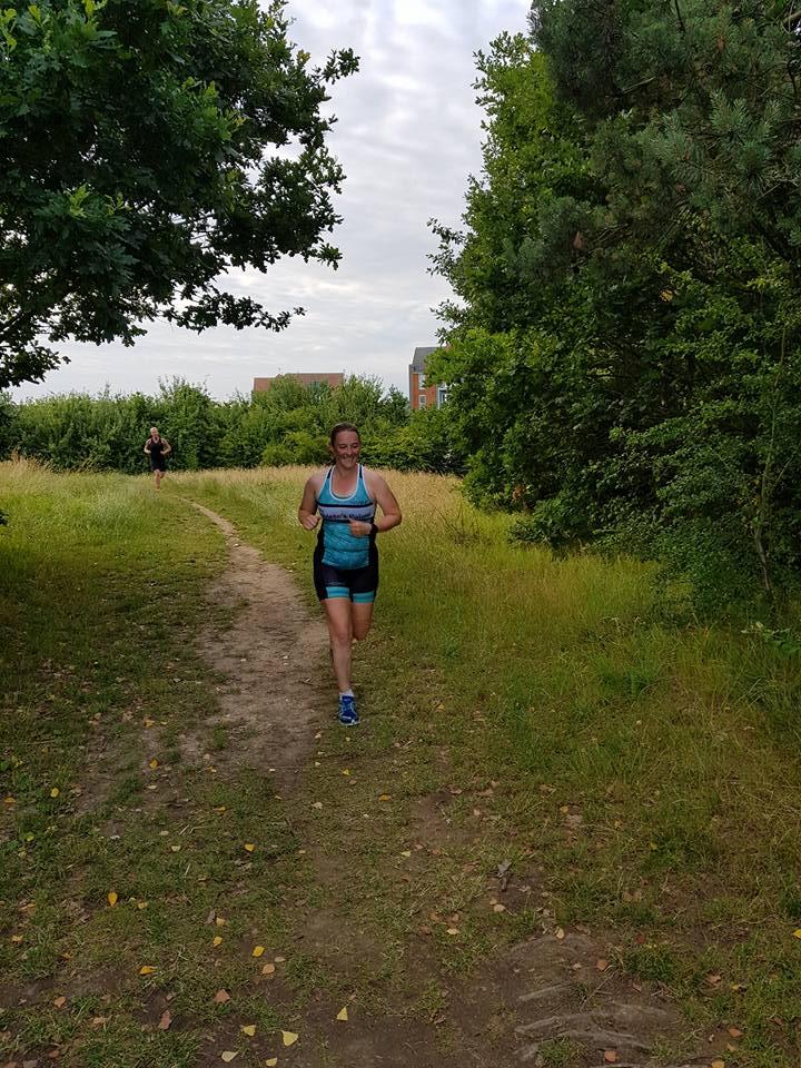 Running at HOWL aquathlon