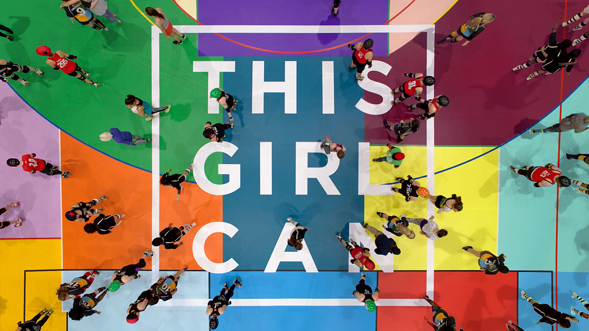 This Girl Can logo.