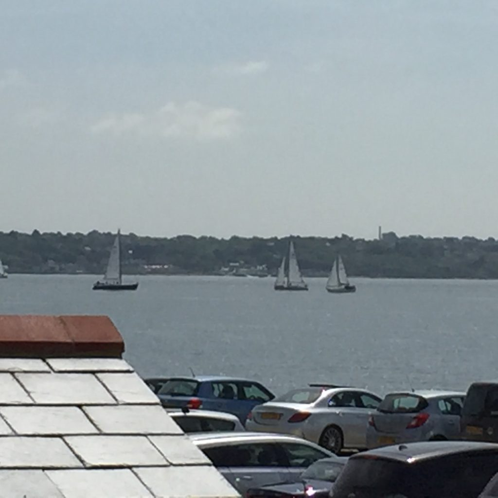 Boats in the Solent
