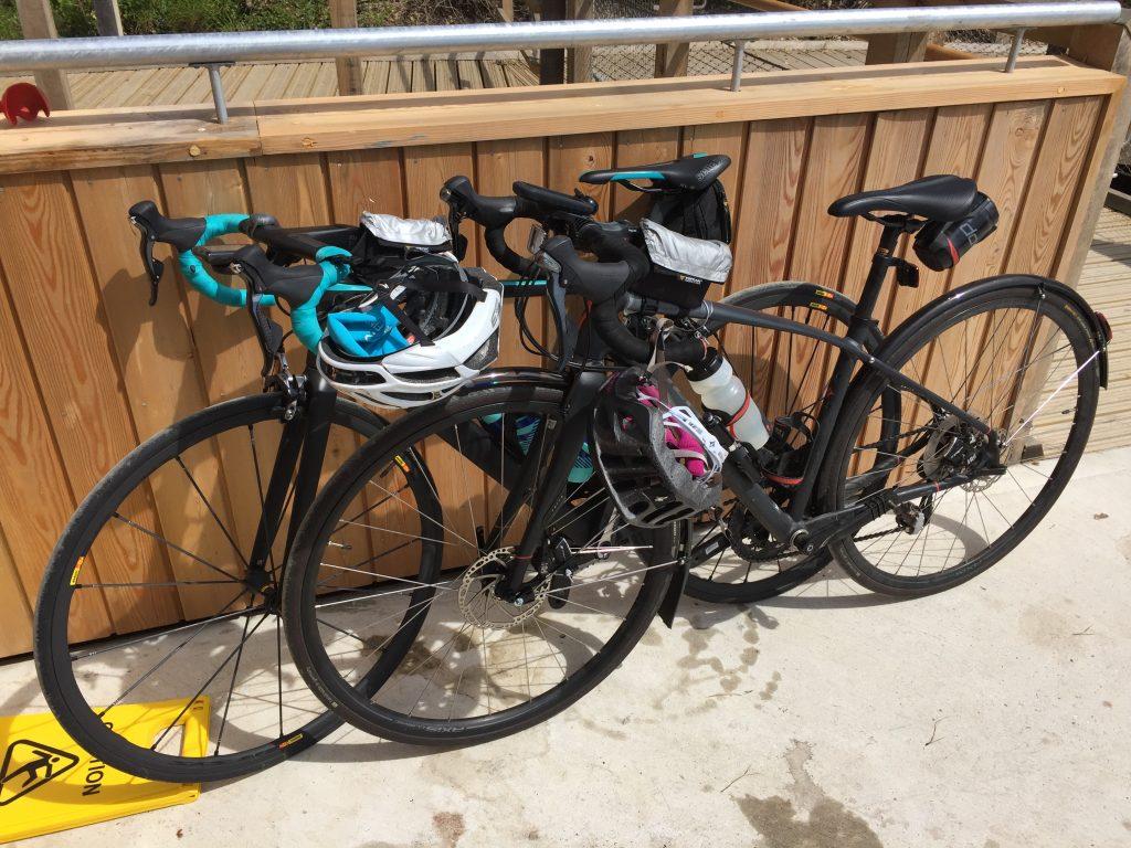 Tamsyn and Teri's bikes