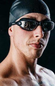 Silver Slick Swimfreak goggles