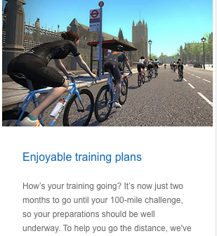 2 months to Ride London