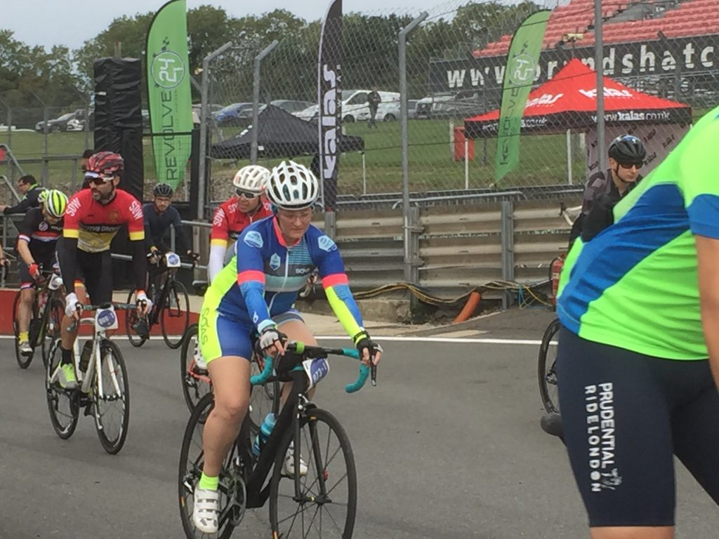 Tamsyn at the start of Revolve24