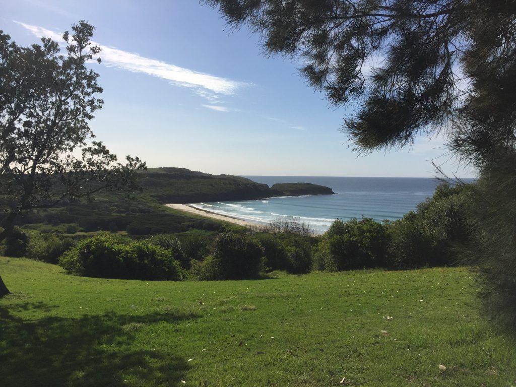 Killalea Beach aka 'The Farm'.