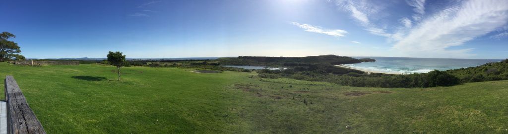 Panoramic view of Shellharbour parkrun.